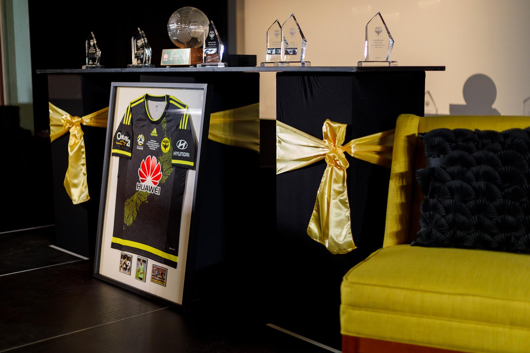 Awards Evening ... Wellington Phoenix FC Awards 2018