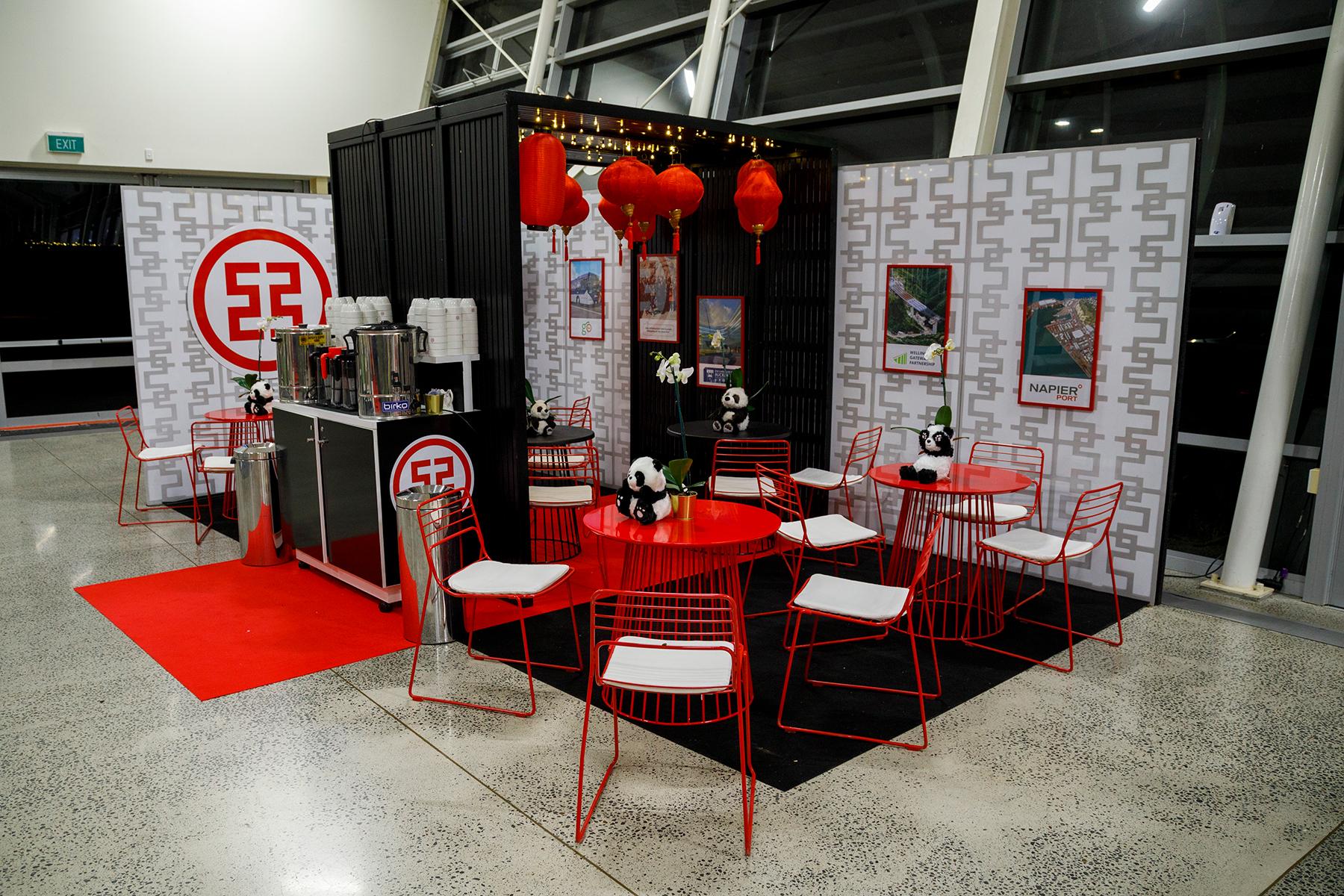 Exhibition Design ... ICBC NZ Tea Booth 2019