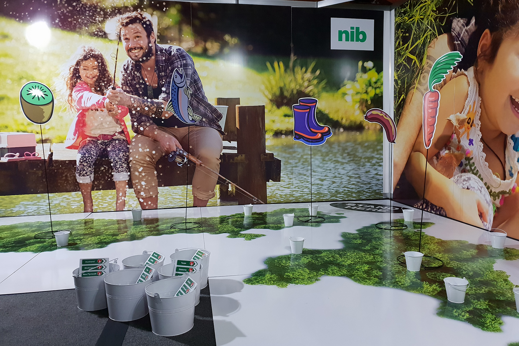Exhibition Design ... Fidelity Life and nib, National Advisors Conference 2018