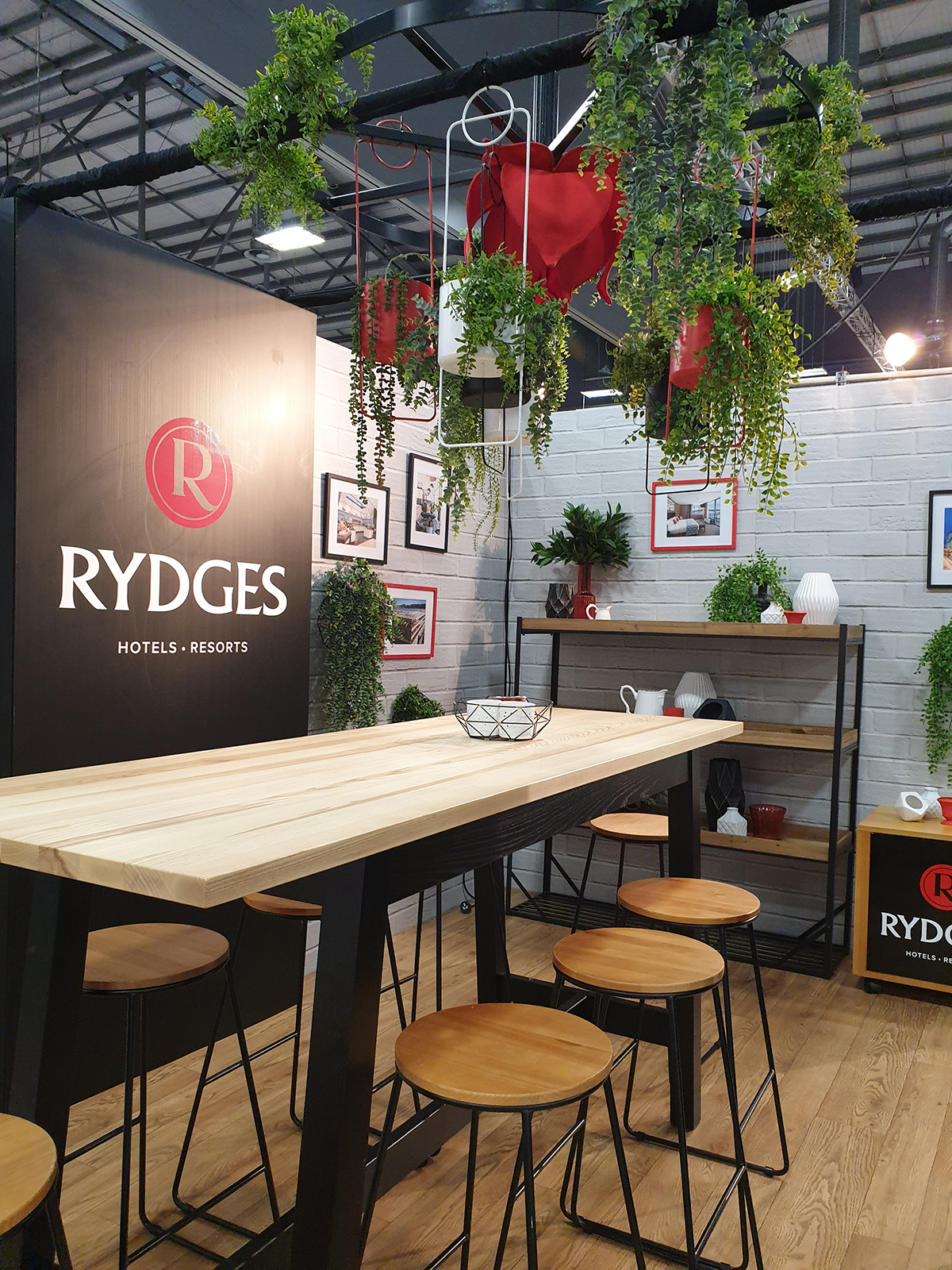 Exhibition Design ... Rydges Hotels and Resorts Expo Stand, MEETINGS 2019