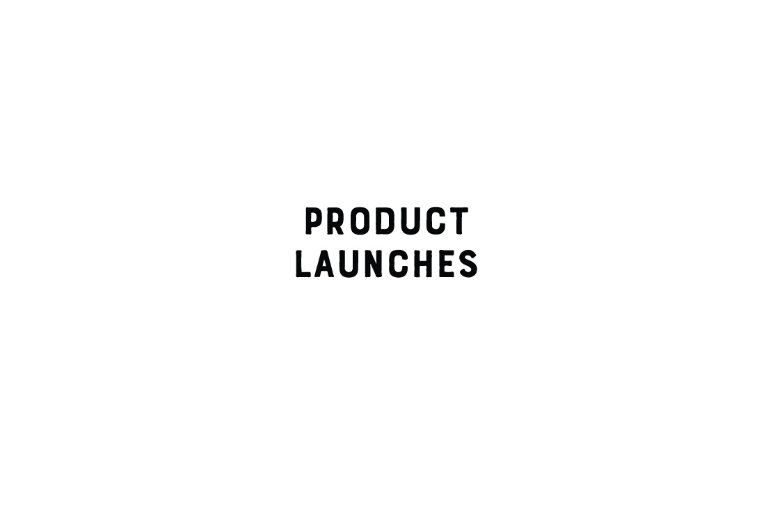 Cut the Mustard Projects ... Product Launches