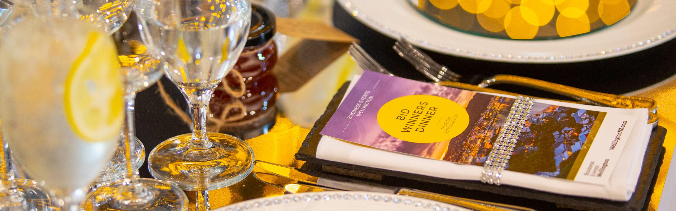 Cut the Mustard Awards Dinner // WellingtonNZ BID Winners' Dinner 2018
